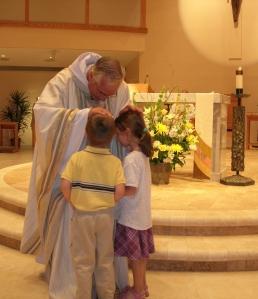 Fr blessing children