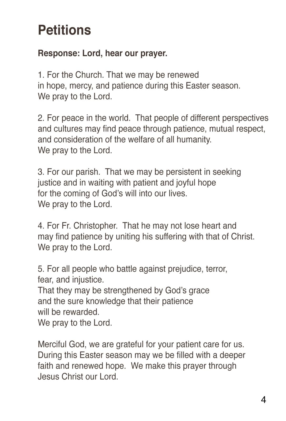prayer 4a