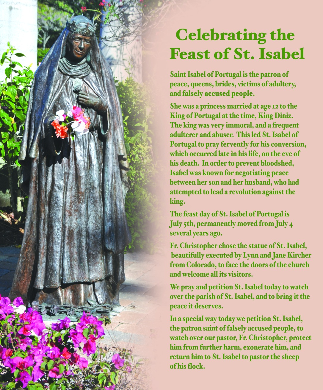 St Isabel Feast Day